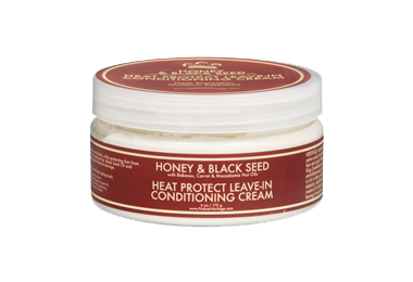 Nubian Heritage Honey & Black Seed Heat Protect Leave-In Conditioning Cream