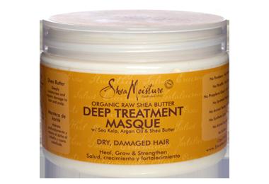 Shea Moisture Organic Raw Shea Butter Deep Treatment Masque