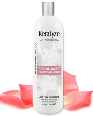 Rose Blowout Heat Styling Lotion