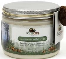 Rainforest Wild Fruit Organic Shea Butter