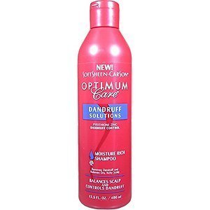 Optimum Care Dandruff Solutions Moisture Rich Shampoo