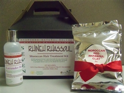Rhineh Rhassoul Moroccan Hair Treatment Kit