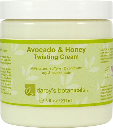 Avocado & Honey Twisting Cream