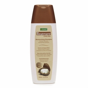 Naat Treatment Curly Hair Moisturizing Shampoo with Keratin and Cupuacu Butter
