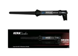 Keratin Complex Clipless Ceramic Cone Curling Iron