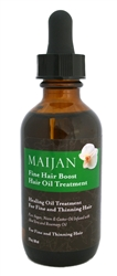 Fine Hair Boost Hair Oil Treatment with Argan and Aloe Vera Oil