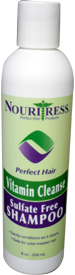 Vitamin Cleanse Sulfate Free Shampoo