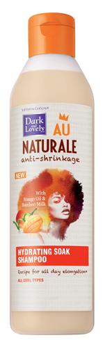 dark and lovely au naturale anti shrinkage hydrating soak