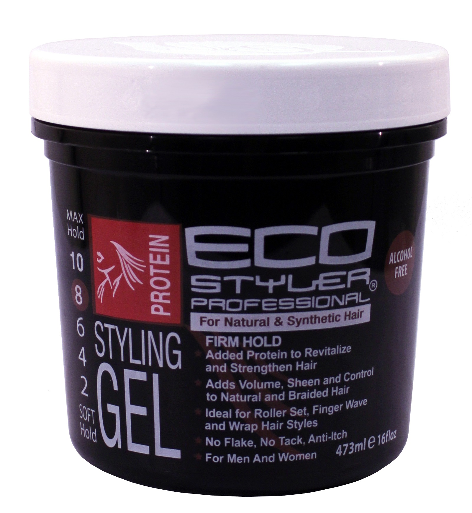 Ecoco Eco Styler Protein Styling Gel Black  NaturallyCurly