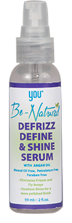 YOU Be-Natural Defrizz Define & Shine Serum