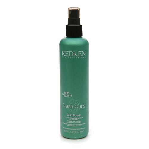 Fresh Curls Curl Boost Anti-Frizz Scrunching Spray Gel for Curly Hair