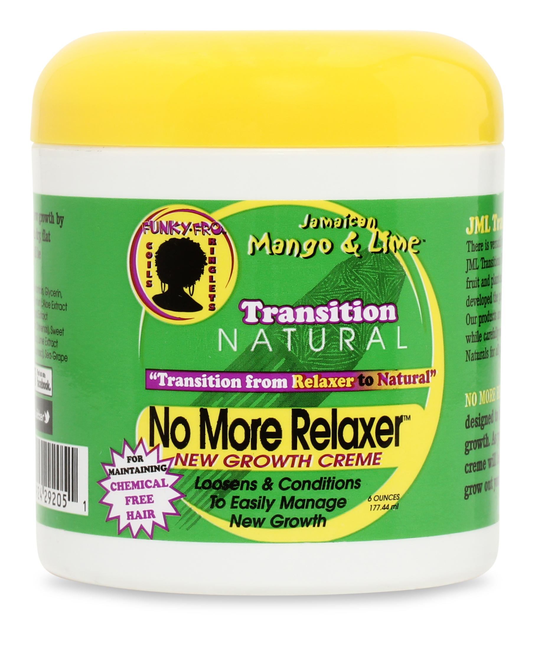 NO MORE RELAXER DAILY NEW GROWTH CRÈME