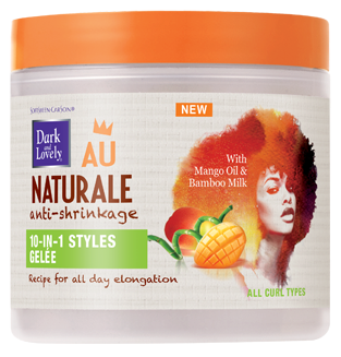 dark and lovely au naturale 10 in 1 styles gelée