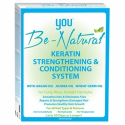 YOU Be-Natural Keratin Strengthening & Conditioning System