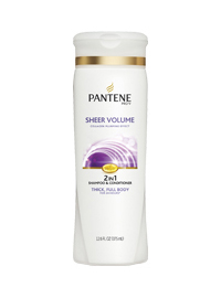Pro-V Sheer Volume 2-in-1 Shampoo and Conditioner
