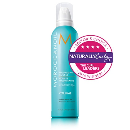 moroccanoil curl defining mousse naturallycurly