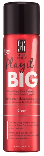 Play it BIG Volumizing Dry Shampoo Clear