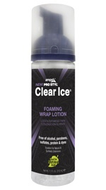 Clear Ice Foaming Wrap Lotion