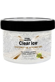 Clear Ice Coconut Oil Styling Gel