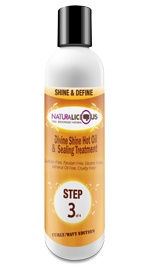 Divine Shine Hot Oil & Sealing Treatment (Curly/Wavy Edition)