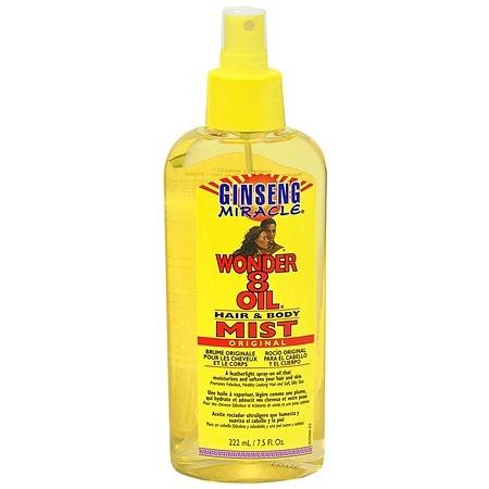 Wonder 8 Hair & Body Mist Oil