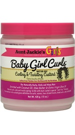 Girls Baby Girl Curls Curling & Twisting Custard