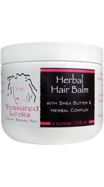 Herbal Hair Balm with Shea Butter