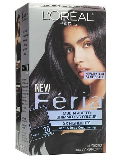 Feria Multi-faceted Shimmering Colour -Natural Black