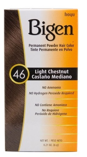 #46 Light Chestnut Permanent Hair Color