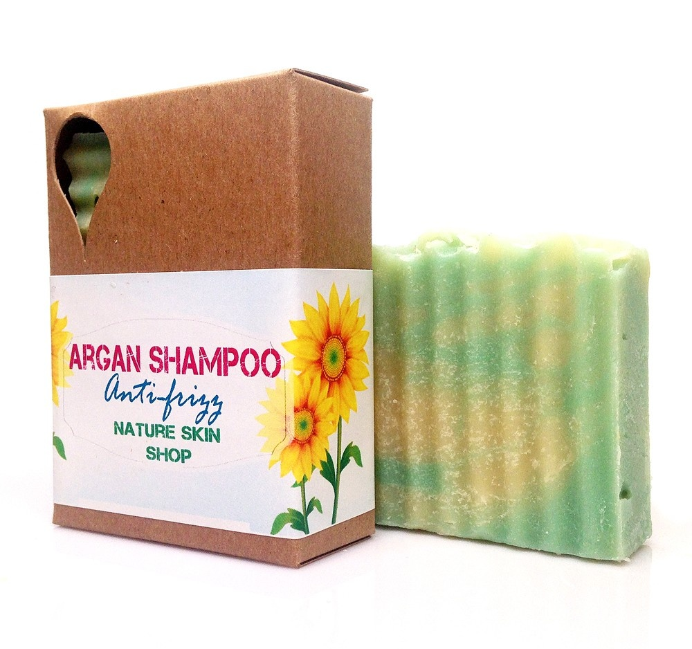 MOROCCAN ARGAN SHAMPOO BAR FOR SMOOTH HAIR
