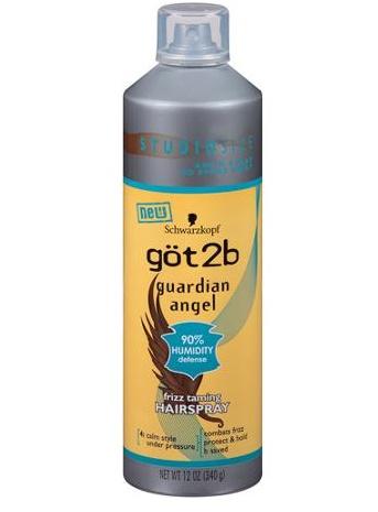 Schwarzkopf got2b Guardian Angel Frizz Taming Hairspray