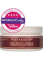 Honey & Black Seed Heat Protect Leave-In Conditioning Cream