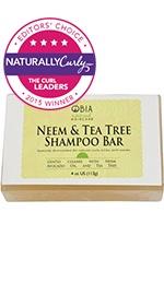 Neem & Tea Tree Shampoo Bar