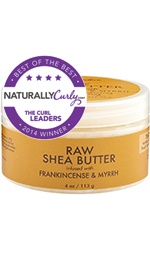 Raw Shea Butter infused with Frankincense & Myrrh