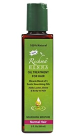 Henna Oil Treatment for Normal Hair