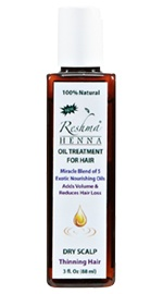 Henna Oil Treatment for Thinning Hair