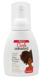 Curls Unleashed Curls Unleashed Green Tea & Mango Shine & Define Mousse