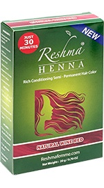 Henna Powder Rich Conditioning Semi-Permanent Hair Color - Natural Wine Red