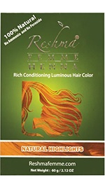 Henna Powder Rich Conditioning Luminous Hair Color - Natural Highlights