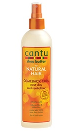 Shea Butter Comeback Curl Next Day Curl Revitalizer