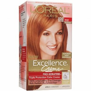 Excellence Creme Haircolor, Reddish Blonde 8RB Warmer