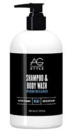 Style Shampoo & Body Wash Invigorating Cleanser