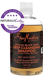African Black Soap Deep Cleansing Shampoo