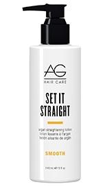 Set It Straight Argan Straightening Lotion
