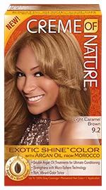 Exotic Shine Color - Light Caramel Brown 9.2