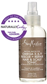 Sacha Inchi Oil Omega 3-6-9 Rescue + Repair Hair & Scalp Tonic