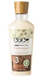 Curly Concoctions Re-Define Foaming Gel
