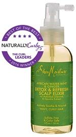 African Water Mint & Ginger Detox & Refresh Scalp Elixir