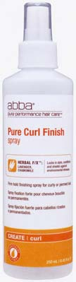 Pure Curl Finish Spray