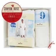 Canyon Rose Cloud 9 Men's Long Spa Robe